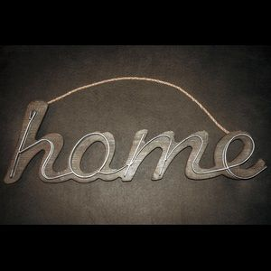 """Home"" Sign"